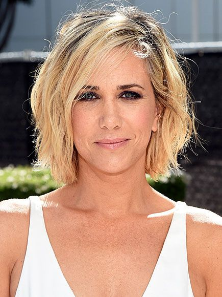 Kristen Wiig Stacked Bob Haircut