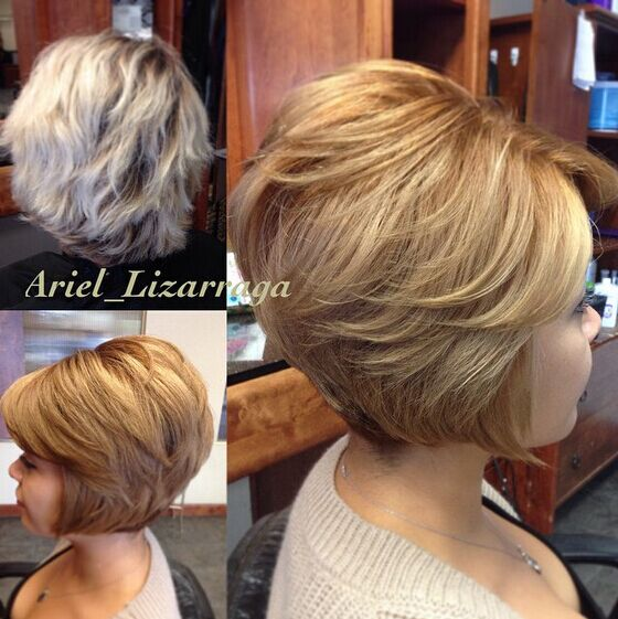 Soft Wedge Hairstyle 5