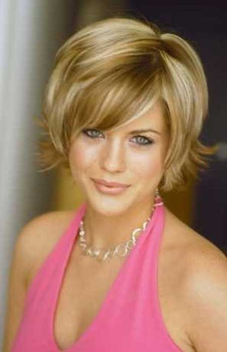 Side Swept Bangs for Women Over 50 with Fine Hair 3