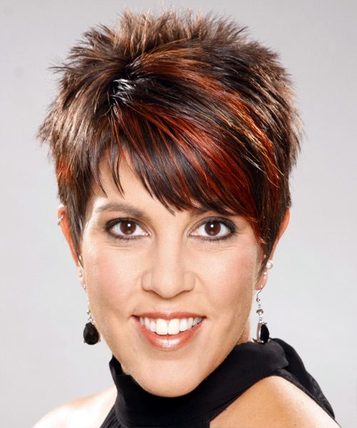 Spiky Pixie Hairstyle for Women Over 50 with Fine Hair 3