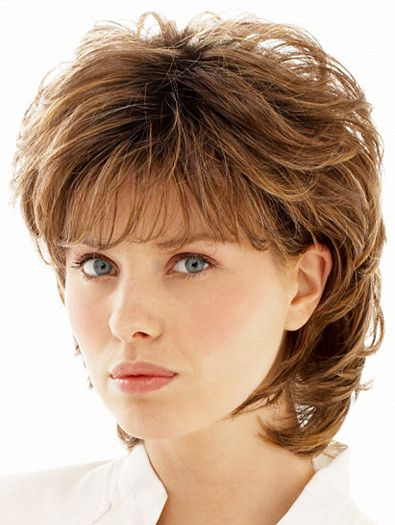 Layered Fine Hairstyle for Over 50 Women 2