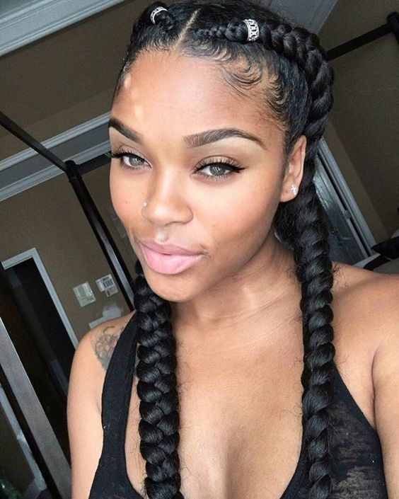79 Most Inspiring Braids Hairstyle for Women Alpine-Plaits-Most-Inspiring-Braids-Hairstyle-for-Women-1