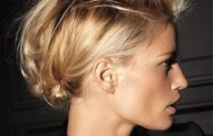 Top 78 Easy Updos for Short Hair to Do Yourself Alternative-Braided-Mohawk-easy-updos-for-short-hair-to-do-yourself-4-235x150