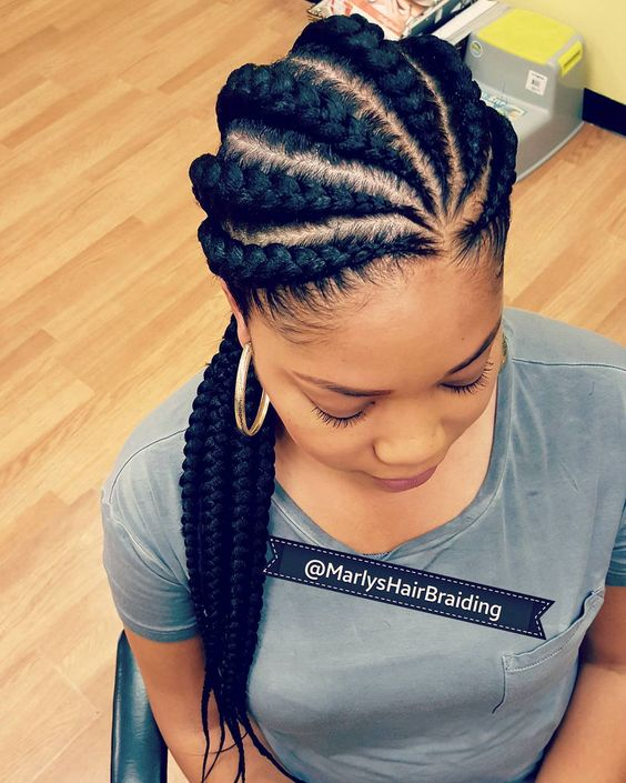 79 Most Inspiring Braids Hairstyle for Women Banana-and-Big-Braids-Most-Inspiring-Braids-Hairstyle-for-Women-1