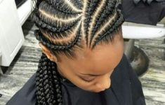 79 Most Inspiring Braids Hairstyle for Women Banana-and-Big-Braids-Most-Inspiring-Braids-Hairstyle-for-Women-4-235x150