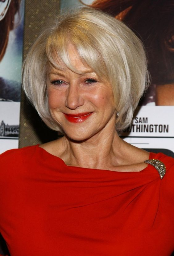 Hairstyles for Seniors with Thin Hair That Give Youthful Look Bob-Hairstyle-Seniors-with-Thin-Hair-That-Give-Youthful-Look-1