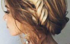Top 78 Easy Updos for Short Hair to Do Yourself Boho-Twis-easy-updos-for-short-hair-to-do-yourself-1-235x150