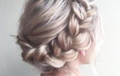 Top 78 Easy Updos for Short Hair to Do Yourself Boho-Twis-easy-updos-for-short-hair-to-do-yourself-2-235x150
