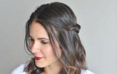 Top 78 Easy Updos for Short Hair to Do Yourself Boho-Twis-easy-updos-for-short-hair-to-do-yourself-3-235x150