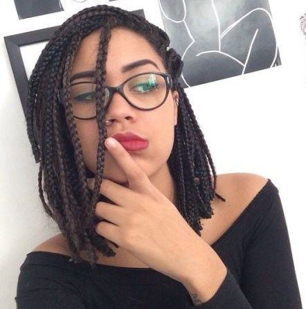Braided Bob with Side Fringes Most Inspiring Braids Hairstyle for Women 6 Braided-Bob-with-Side-Fringes-Most-Inspiring-Braids-Hairstyle-for-Women-6