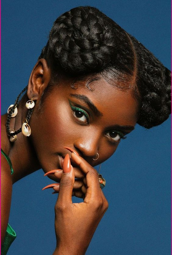 79 Most Inspiring Braids Hairstyle for Women Crowning-Glory-Most-Inspiring-Braids-Hairstyle-for-Women-1
