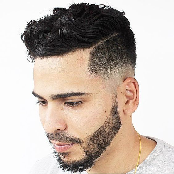Short & Medium Length Curly Hairstyles for Men - World Trends Fashion