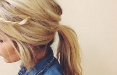 72 Cute and Chic Asian Hairstyles for Women Loose-Low-Ponytail-With-Casual-Side-Bangs-Asian-Women-Hairstyles-4-235x150