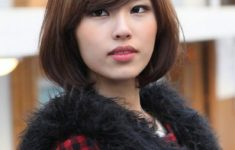 72 Cute and Chic Asian Hairstyles for Women Medium-Bob-With-Bangs-Asian-hairstyles-for-women-6-235x150