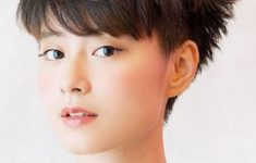72 Cute and Chic Asian Hairstyles for Women Messy-Pixie-Asian-hairstyles-for-women-3-235x150