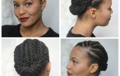 Top 78 Easy Updos for Short Hair to Do Yourself PinnedBack-Twist-Hairstyle-Easy-Updos-for-Short-Hair-to-do-Yourself-4-235x150