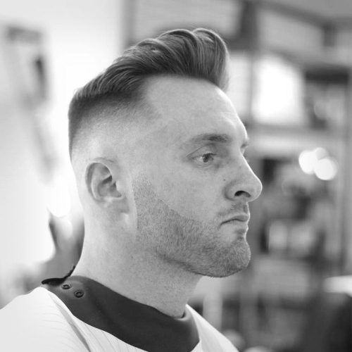 10 Ideal Haircuts for Men with Thin Hair Pompadour-with-Undercut-haircuts-for-men-with-thin-hair-1