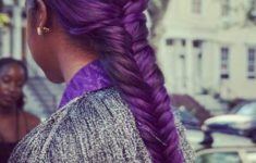 79 Most Inspiring Braids Hairstyle for Women Punky-Purple-Most-Inspiring-Braids-Hairstyle-for-Women-5-235x150