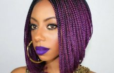 79 Most Inspiring Braids Hairstyle for Women Punky-Purple-Most-Inspiring-Braids-Hairstyle-for-Women-6-235x150