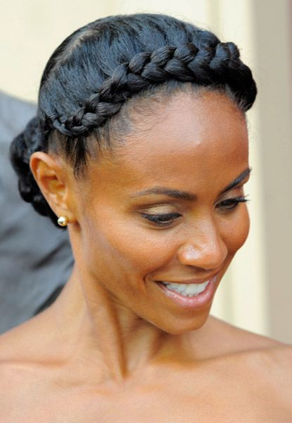 Short Curly with Crown Braid Easiest Short Curly Hairstyles Ideas 4 Short-Curly-with-Crown-Braid-Easiest-Short-Curly-Hairstyles-Ideas-4