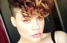 60 Easiest Short Curly Hairstyles Ideas that Look Awesome Short-Curly-with-Shaved-Side-Easiest-Short-Curly-Hairstyles-Ideas-5-235x150