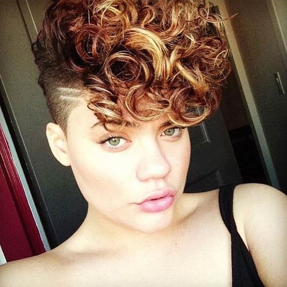 Short Curly with Shaved Side Easiest Short Curly Hairstyles Ideas 5 Short-Curly-with-Shaved-Side-Easiest-Short-Curly-Hairstyles-Ideas-5