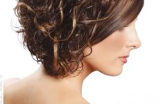 60 Easiest Short Curly Hairstyles Ideas that Look Awesome Short-Curly-with-Side-Swept-Bangs-Easiest-Short-Curly-Hairstyles-Ideas-3-235x150