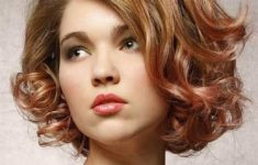 60 Easiest Short Curly Hairstyles Ideas that Look Awesome Short-Curly-with-Side-Swept-Bangs-Easiest-Short-Curly-Hairstyles-Ideas-5-235x150