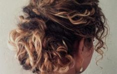60 Easiest Short Curly Hairstyles Ideas that Look Awesome Short-Natural-Curly-Up-Do-Easiest-Short-Curly-Hairstyles-Ideas-6-235x150
