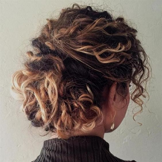 Short Natural Curly Up-Do Easiest Short Curly Hairstyles Ideas 6 Short-Natural-Curly-Up-Do-Easiest-Short-Curly-Hairstyles-Ideas-6
