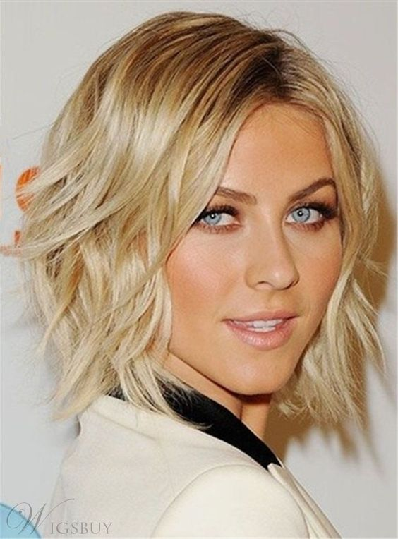 Short Wavy Lobs Easiest Short Curly Hairstyles Ideas 6 Short-Wavy-Lobs-Easiest-Short-Curly-Hairstyles-Ideas-6