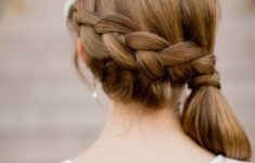 79 Most Inspiring Braids Hairstyle for Women Simple-Side-Swept-Braids-Most-Inspiring-Braids-Hairstyle-for-Women-6-235x150