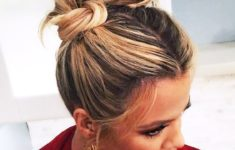 79 Most Inspiring Braids Hairstyle for Women Space-Braided-Bun-with-Pig-Tails-Most-Inspiring-Braids-Hairstyle-for-Women-3-235x150