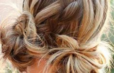 79 Most Inspiring Braids Hairstyle for Women Space-Braided-Bun-with-Pig-Tails-Most-Inspiring-Braids-Hairstyle-for-Women-4-235x150