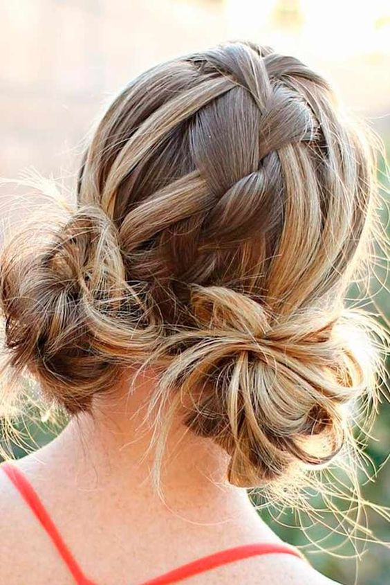 Space Braided Bun with Pig Tails Most Inspiring Braids Hairstyle for Women 4 Space-Braided-Bun-with-Pig-Tails-Most-Inspiring-Braids-Hairstyle-for-Women-4