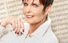 54 Best Women's Hairstyles for over 40 and Overweight Spiky-Hairstyle-for-over-40-and-Overweight-Women-5-235x150