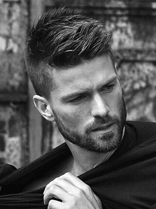10 Ideal Haircuts for Men with Thin Hair Spiky-Side-Swept-haircuts-for-men-with-thin-hair-5
