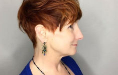54 Best Women's Hairstyles for over 40 and Overweight Thick-Pixie-Hairstyle-for-over-40-and-Overweight-Women-1-235x150