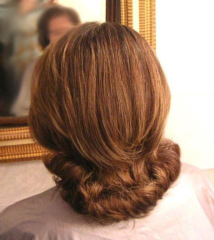 Flipped Under Bob Hairstyle for Women Over 50 with Fine Hair 3