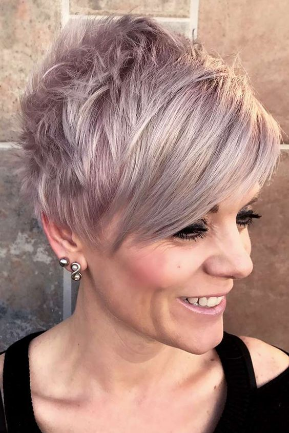 Long Pixie Haircuts for Women Over 50 with Fine Hair 5