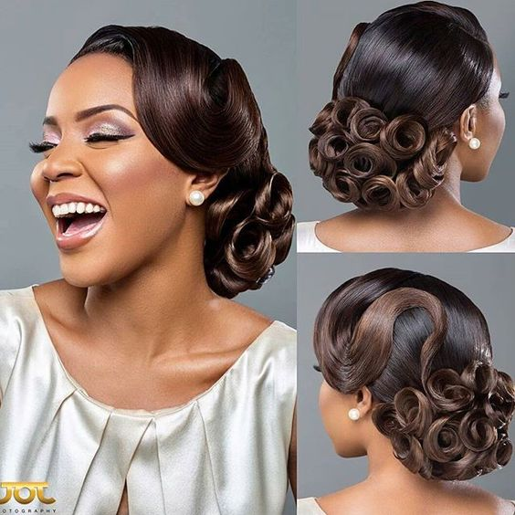 66 Best Hairstyle Ideas for African American Wedding eb124835eb08da566165756b3388872b