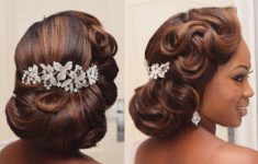 66 Best Hairstyle Ideas for African American Wedding f3d962c48e298a07a86e2cb69de38989-235x150