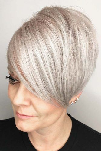 72 Best Short Hairstyles for Fine Hair over 50 Years Old f4e1683deb2af58cd4d3e742e80bdc7f
