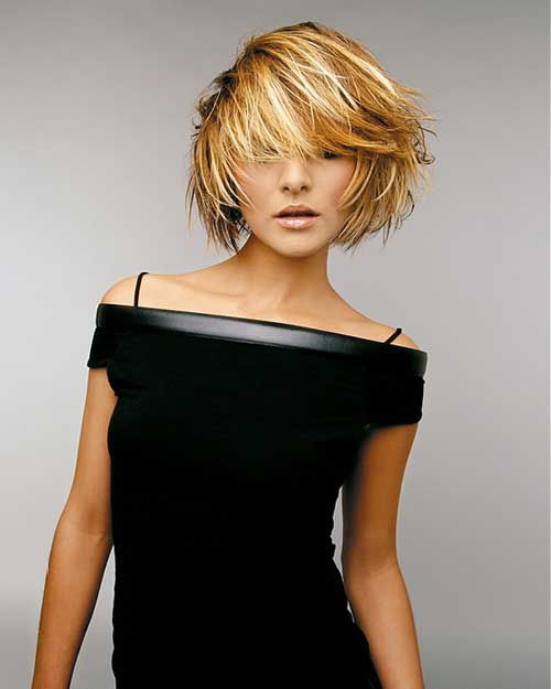 Best Hair Color Ideas for Short Hair 2013 Golden-Hair-Color-for-Short-Bob-Hairstyles