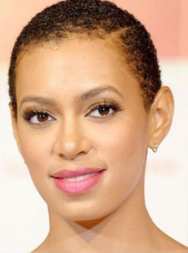 Natural Short Hairstyles for Black Women 2013