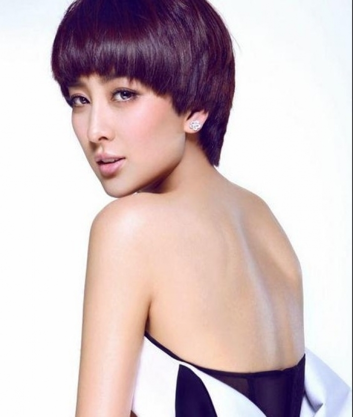 Best Hair Color Ideas for Short Hair 2013 Purple-Hair-Color-for-Short-Haircut