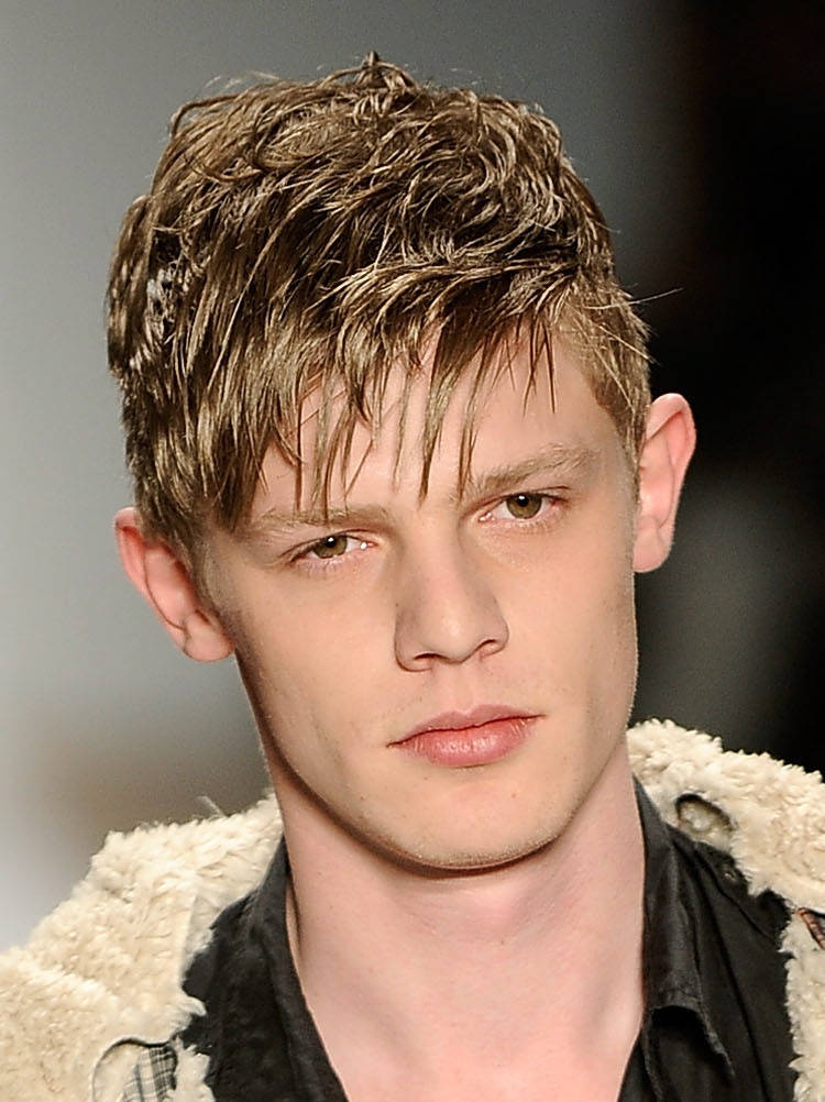 Short Messy Hairstyles for Men 2013