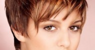 Short Messy Haircuts For Women 2013