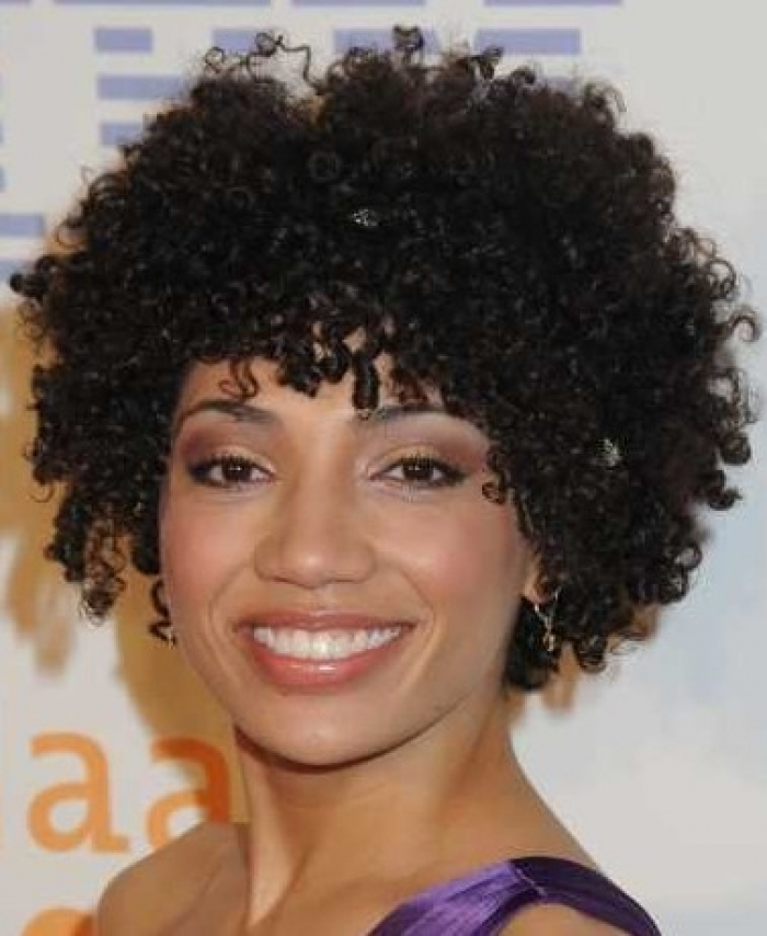 Short Curly African American Hairstyles Short-Natural-Curly-African-American-Hairstyles