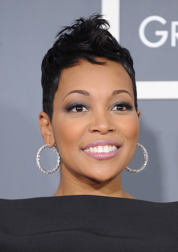 Short Natural Hairstyles for Black Women 2013